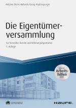 Cover-Bild Die Eigentümerversammlung - inkl. Arbeitshilfen online