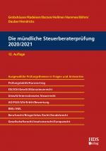 Cover-Bild Die mündliche Steuerberaterprüfung 2020/2021