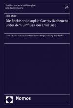 Cover-Bild Die Rechtsphilosophie Gustav Radbruchs unter dem Einfluss von Emil Lask