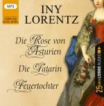 Cover-Bild Die Rose von Asturien / Die Tatarin / Feuertochter