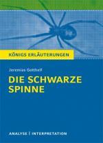 Cover-Bild Die schwarze Spinne von Jeremias Gotthelf.