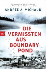 Cover-Bild Die Vermissten aus Boundary Pond