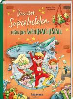 Cover-Bild Die vier Superhelden lösen den Weihnachtsfall