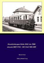 Cover-Bild Dieseltriebwagen der Baureihe ÖBB 5041 (ehemals BBÖ VT41, DR C4ivT 880–889)