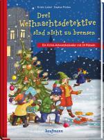 Cover-Bild Drei Weihnachtsdetektive sind nicht zu bremsen. Ein Krimi-Adventskalender mit 24 Rätseln