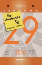 Cover-Bild Ein geschenkter Tag - 2016