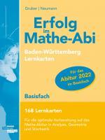 Cover-Bild Erfolg im Mathe-Abi 168 Lernkarten Basisfach Allgemeinbildendes Gymnasium Baden-Württemberg ab 2021