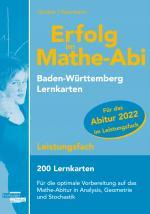 Cover-Bild Erfolg im Mathe-Abi 2022, 200 Lernkarten Leistungsfach Allgemeinbildendes Gymnasium Baden-Württemberg