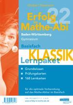 Cover-Bild Erfolg im Mathe-Abi 2022 Lernpaket Basisfach 'Klassik' Baden-Württemberg Gymnasium