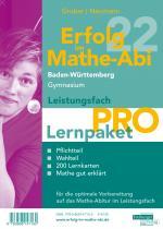 Cover-Bild Erfolg im Mathe-Abi 2022 Lernpaket Leistungsfach 'Pro' Baden-Württemberg Gymnasium