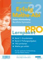 Cover-Bild Erfolg im Mathe-Abi 2022 Lernpaket 'Pro' Baden-Württemberg Berufliche Gymnasien