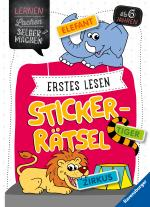 Cover-Bild Erstes Lesen Sticker-Rätsel