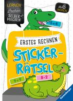 Cover-Bild Erstes Rechnen Sticker-Rätsel