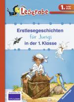 Cover-Bild Erstlesegeschichten für Jungs in der 1. Klasse - Leserabe 1. Klasse - Erstlesebuch für Kinder ab 6 Jahren