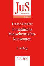 Cover-Bild Europäische Menschenrechtskonvention