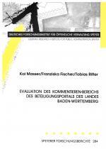 Cover-Bild Evaluation des Kommentieren-Bereichs des Beteiligungsportals des Landes Baden-Württemberg