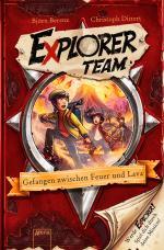Cover-Bild Explorer Team. Gefangen zwischen Feuer und Lava