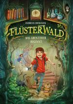 Cover-Bild Flüsterwald - Das Abenteuer beginnt (Flüsterwald, Bd. 1)
