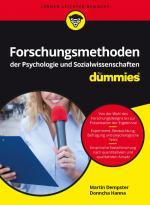 Cover-Bild Forschungsmethoden der Psychologie und Sozialwissenschaften für Dummies