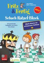 Cover-Bild Fritz&Fertig Schach-Rätselblock: Mattalarm im schwarzen Schloss