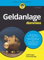 Cover-Bild Geldanlage für Dummies