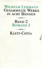 Cover-Bild Gesammelte Werke in acht Bänden / Romane I