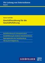 Cover-Bild Geschäftsordnung für die Geschäftsführung