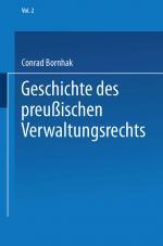 Cover-Bild Geschichte des Preußischen Verwaltungsrechts