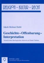 Cover-Bild Geschichte – Offenbarung – Interpretation