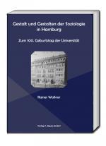 Cover-Bild Gestalt und Gestalten der Soziologie in Hamburg.