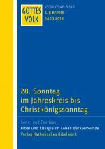 Cover-Bild Gottes Volk LJ B8/2018