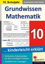 Cover-Bild Grundwissen Mathematik / Klasse 10