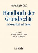Cover-Bild Handbuch der Grundrechte in Deutschland und Europa