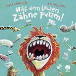 Cover-Bild Hilf dem Löwen Zähne putzen! (Pappbilderbuch)