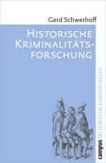 Cover-Bild Historische Kriminalitätsforschung