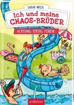 Cover-Bild Ich und meine Chaos-Brüder - Achtung, fertig, Ferien! (Ich und meine Chaos-Brüder 4)
