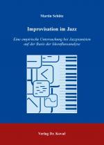 Cover-Bild Improvisation im Jazz