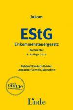Cover-Bild Jakom Einkommensteuergesetz 2013