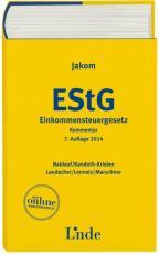 Cover-Bild Jakom Einkommensteuergesetz 2014