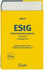 Cover-Bild Jakom Einkommensteuergesetz 2015