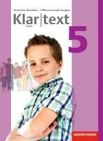 Cover-Bild Klartext / Klartext - Differenzierende Ausgabe 2014 für Nordrhein-Westfalen