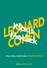 Cover-Bild Klaus Modick über Leonard Cohen