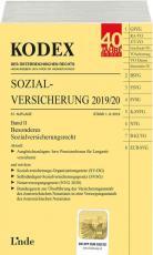 Cover-Bild KODEX Sozialversicherung 2019/20, Band II