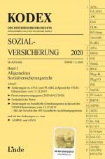 Cover-Bild KODEX Sozialversicherung 2020, Band I