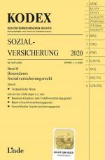 Cover-Bild KODEX Sozialversicherung 2020, Band II