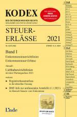 Cover-Bild KODEX Steuer-Erlässe 2021, Band I