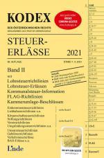 Cover-Bild KODEX Steuer-Erlässe 2021, Band II