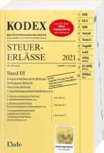 Cover-Bild KODEX Steuer-Erlässe 2021 Band III