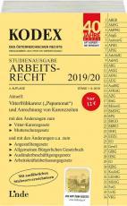 Cover-Bild KODEX Studienausgabe Arbeitsrecht 2019/20