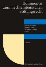 Cover-Bild Kommentar zum liechtensteinischen Stiftungsrecht